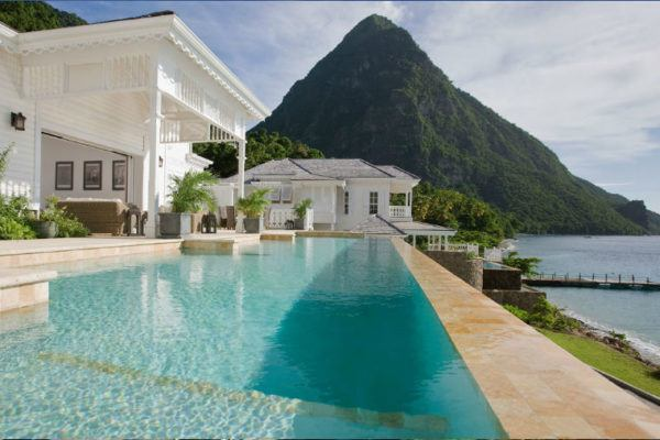 Solo women travelers are welcome at the Viceroy Sugar Beach in St Lucia.