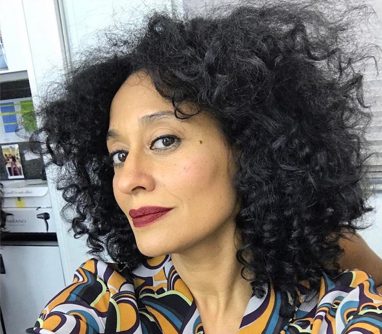 tracee ellis ross lipstick at workouts