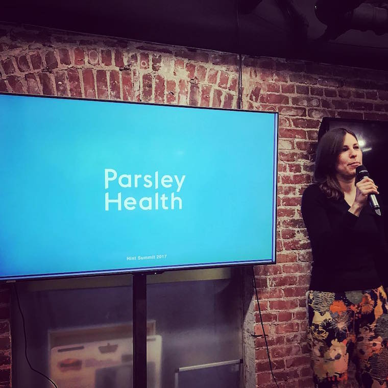 women startups parsley health