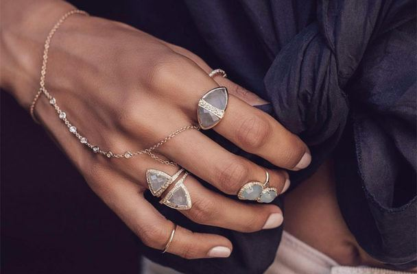 13 new pieces of high-vibe crystal jewelry with serious fashion cred