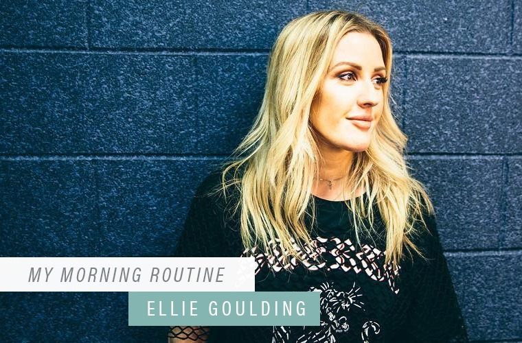 Thumbnail for This is the one thing Ellie Goulding does every a.m. to keep her mind (and body) healthy