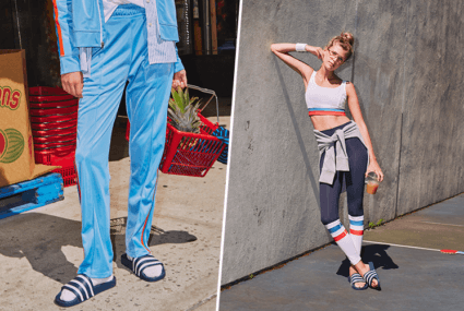 This '70s-inspired collection is what retro workout dreams are made of