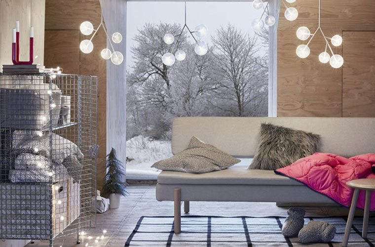 Thumbnail for The one thing you need from Ikea's Winter collection is this dreamy $25 chandelier