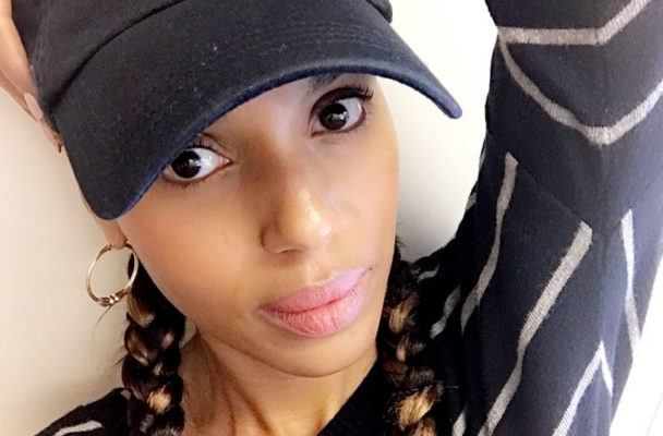 Kerry Washington's wellness routine includes SoulCycle, supplements, and massages