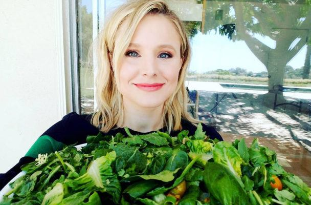 In a rush? Copy Kristen Bell's simple and quick sprint-based workout