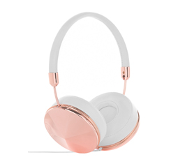 Happy plugs earbuds rose gold - headphones bluetooth gold rose