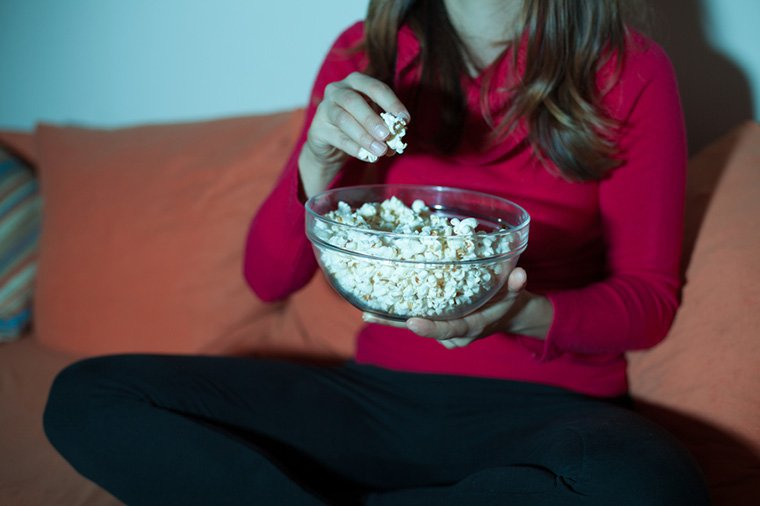 microwaved popcorn health risk