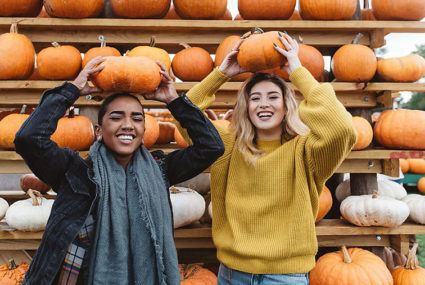 How to get super-glowy skin using the pumpkin from your jack-o'-lantern