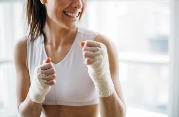 Thumbnail for This just-for-ladies boxing gym is the perfect place to host your next women's circle meeting