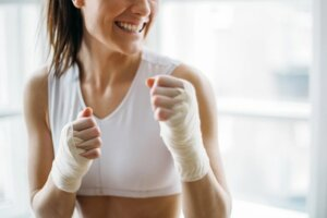 This just-for-ladies boxing gym is the perfect place to host your next women's circle meeting