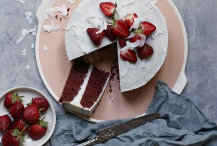 The vegan, gluten-free red velvet cake everyone will want a piece of