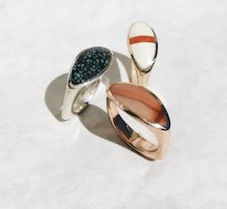 Thumbnail for 13 new pieces of high-vibe crystal jewelry with serious fashion cred