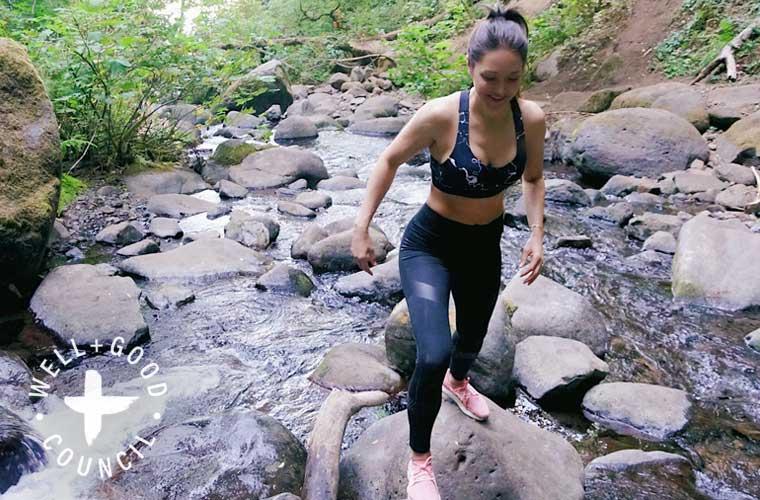 Candice Kumai writes about forest bathing.