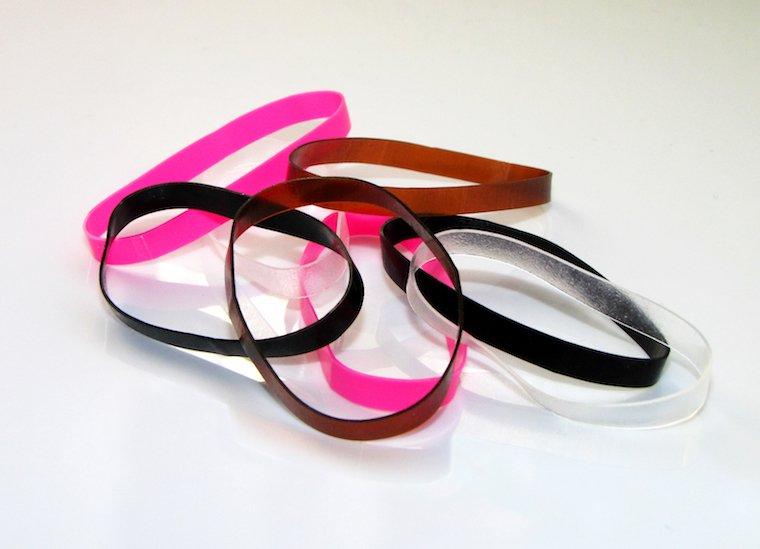 Discount Telephone Cord Hair Tie, Plastic Scrunchie Hair Tie Factory