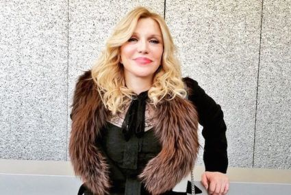 Rock chick Courtney Love's moisturizer obsession reveals her soft side