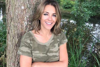 Elizabeth Hurley swears by apple cider vinegar for a metabolism boost