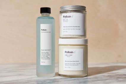 What you need to know about Follain's dreamy new bath collection
