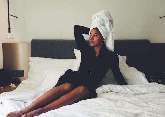 The two products Hannah Bronfman swears by for a post-shower glow