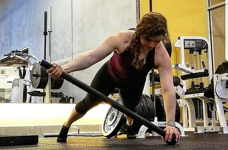 What's it like to wield a steel mace during your workout? I tried it to find out