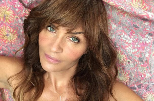 The DIY Beauty Hack Helena Christensen Swears by for Smooth, Glowy Skin