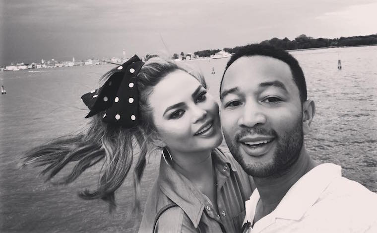Chrissy Teigen and John Legend's new puppy is too cute for words