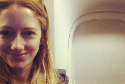 Judy Greer can't travel without Joanna Vargas sheet masks or bath salts