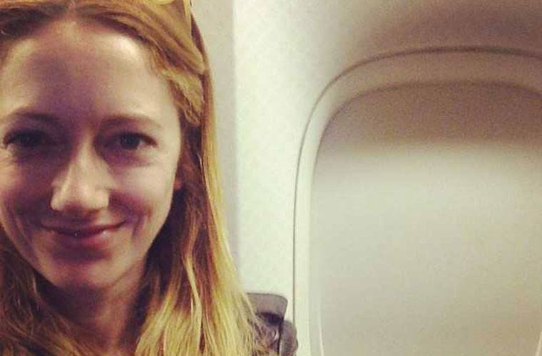 Thumbnail for Judy Greer can't travel without Joanna Vargas sheet masks or bath salts