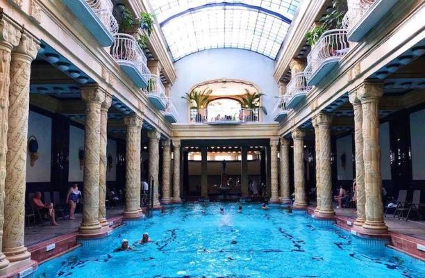4 thermal baths that will convince you to book a flight to Budapest ASAP