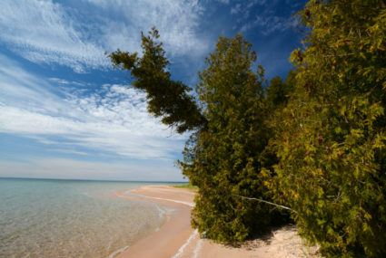 Sleeping Bear Dunes in Michigan