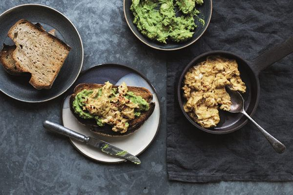 Take your avocado toast to the next level with turmeric scrambled deviled eggs