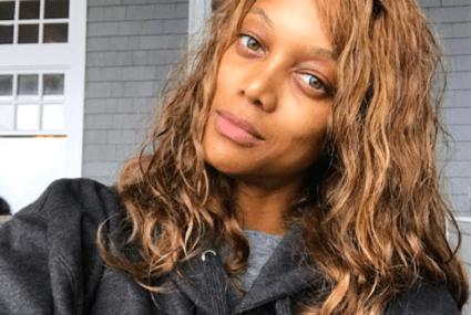 The feel-good way Tyra Banks gets her no-makeup glow