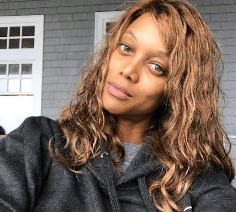 Thumbnail for The feel-good way Tyra Banks gets her no-makeup glow