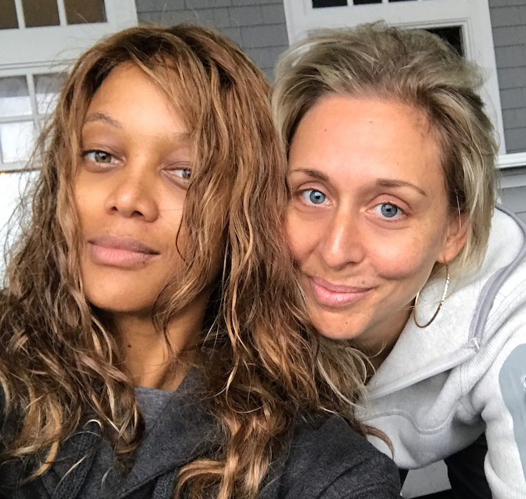 The texture-good approach Tyra Banks will get her no-makeup glow