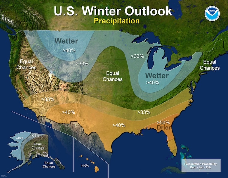 winter weather map