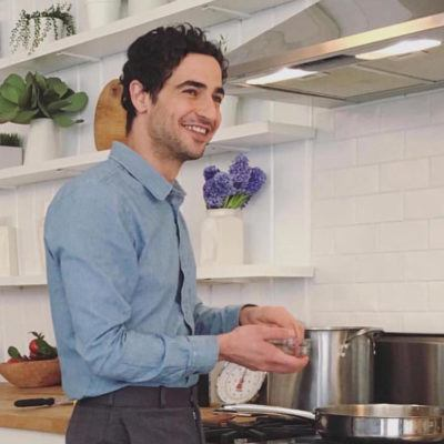 Zac Posen Wrote a Cookbook and It's As Chic As You'd Imagine
