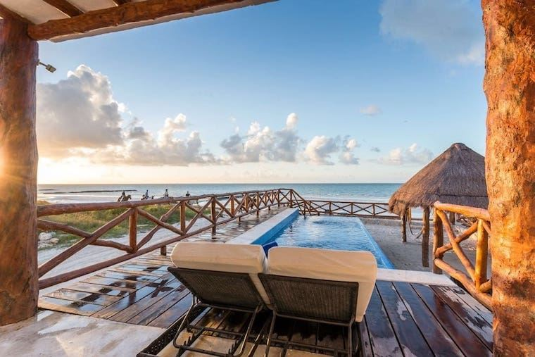 Thumbnail for These 4 Airbnbs will complete your boho-style vacay in Isla Holbox, Mexico