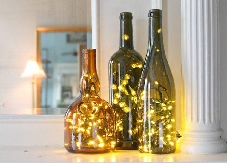 Bottled Christmas Lights