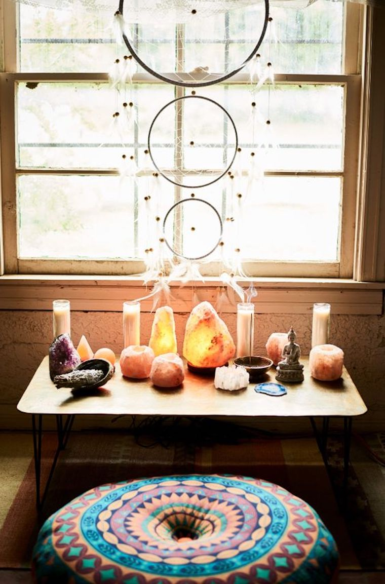 The best meditation nooks on pinterest well good Home decorating ideas corner