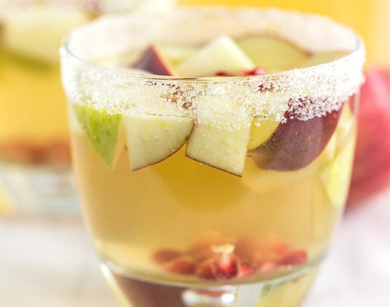 Apple Cider Sangia Cocktail