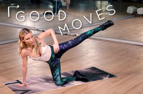 Tracy Anderson's 6-minute abs workout to burn calories and boost your digestion