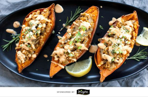 Get ready to win Thanksgiving with this stuffed sweet potato recipe