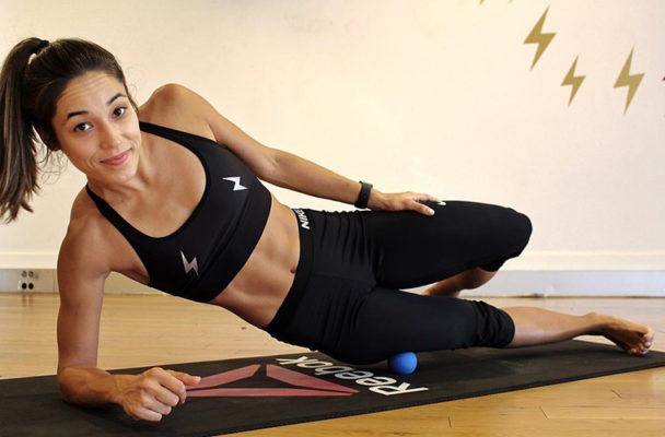 Why a massage ball might the best piece of workout equipment you're not using