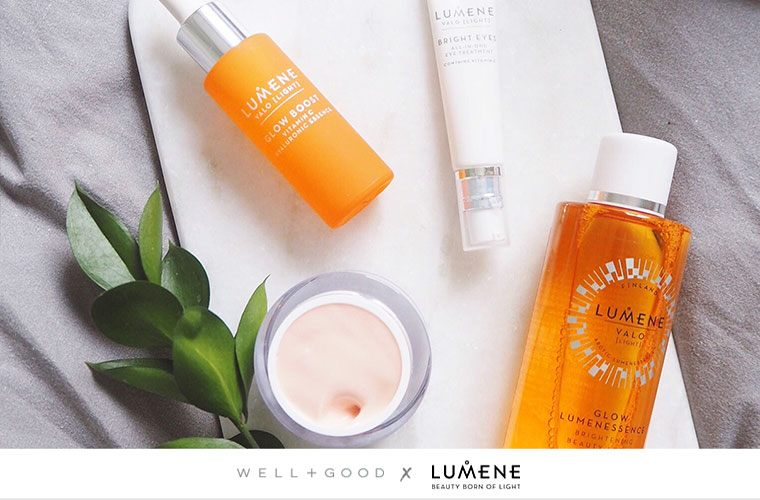 Lumene Valo moisture skin care