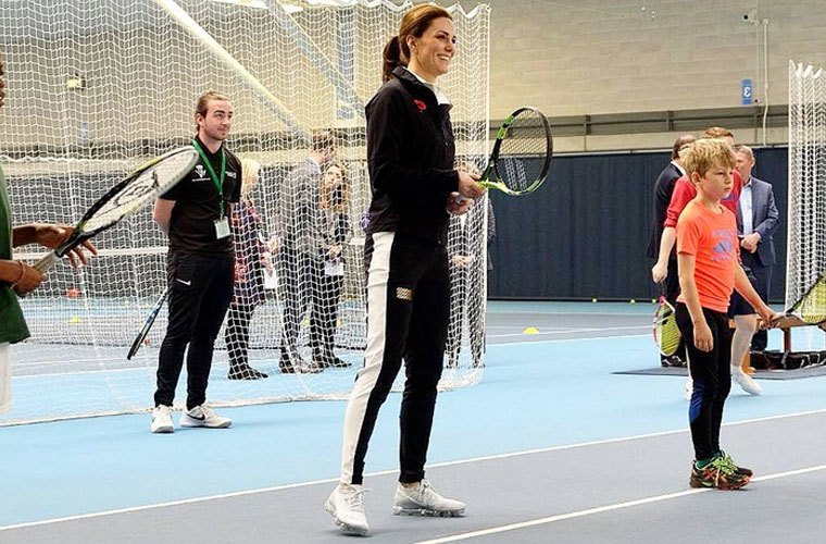 Thumbnail for Kate Middleton's off-duty athletic look takes a page out of her sporty roots