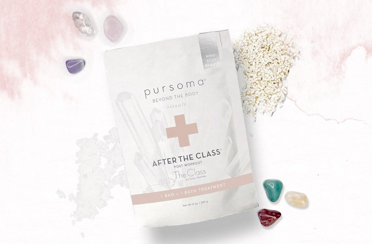 Thumbnail for Taryn Toomey and Pursoma Just Dropped a Crystal-Infused, Magnesium-Rich Bath Soak