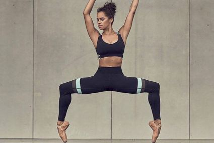 Misty Copeland's easy-to-copy calf-raising morning routine is on pointe