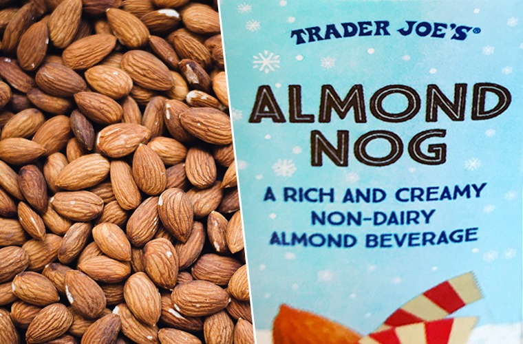 Thumbnail for Trader Joe's almond nog is a low-fat, dairy-free holiday dream come true