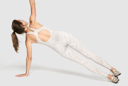 ACTIVEWEAR SHOWS ITS SOFTER SIDE