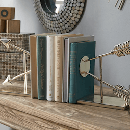 Thumbnail for 6 chic bookends that will inspire you to organize your home library