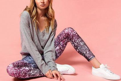 5f563a482d4 Chic sparkly leggings for holiday 2017